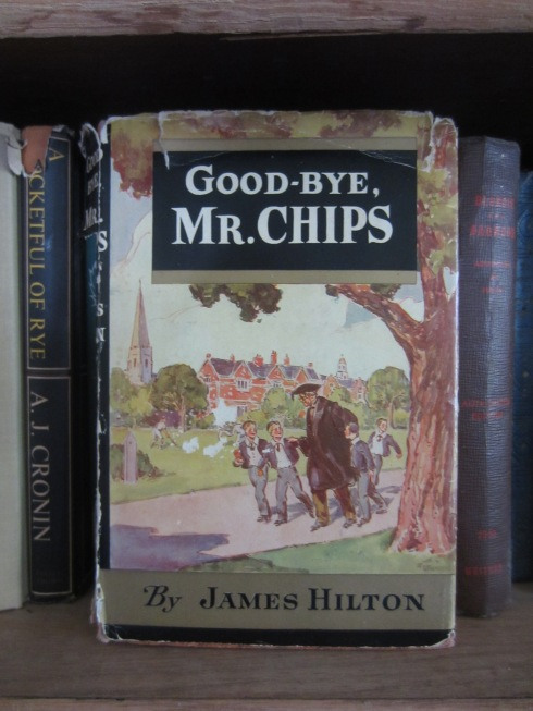 Cover of Goodbye, Mr. Chips