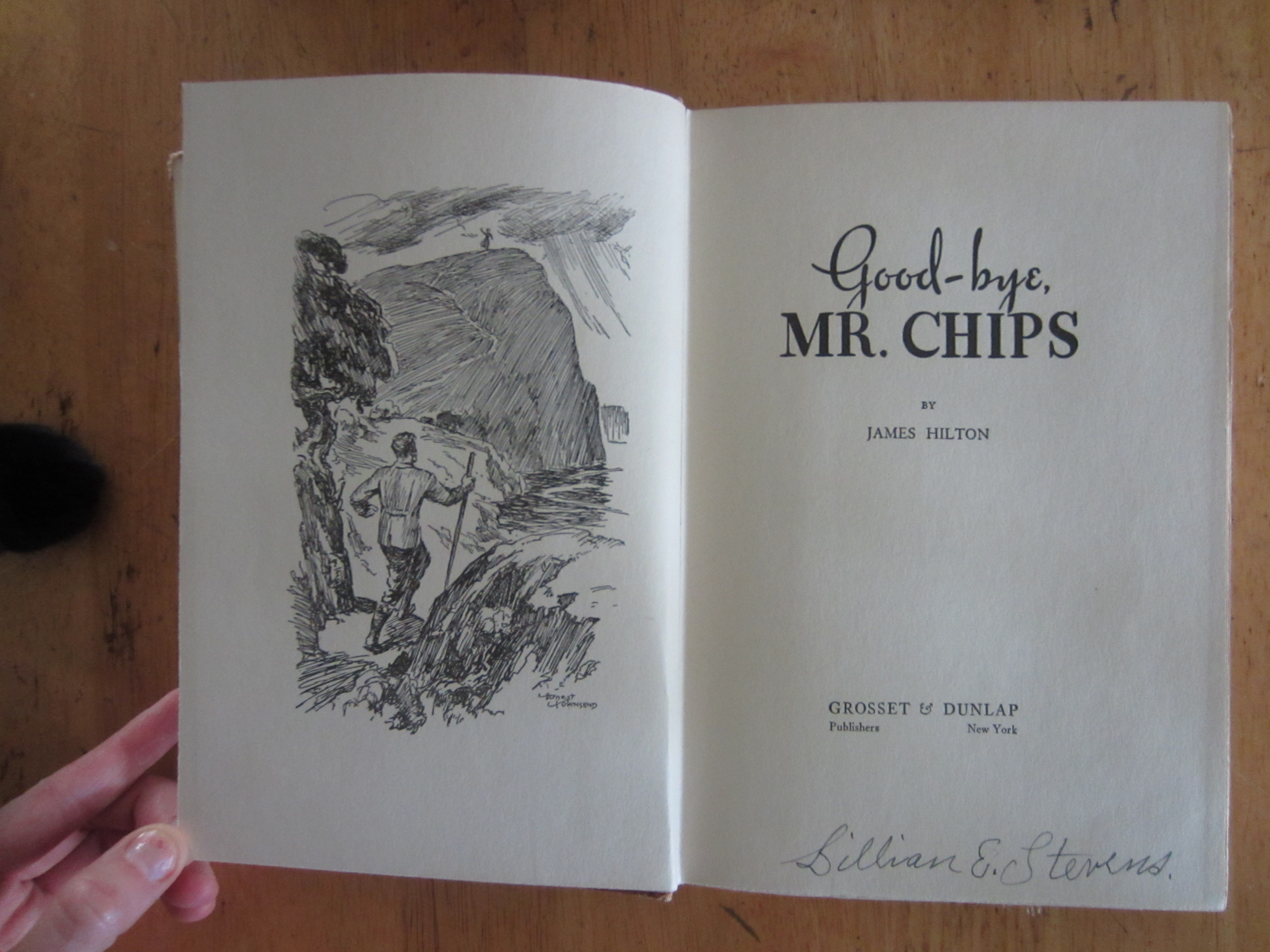 goodbye mr chips essays Goodbye mr chips essaysthe name of this book is, of course, goodbye, mr chips it was written by james hilton in the 1930's, among his other books including, nothing so strange, morning.